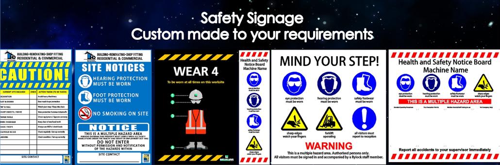 Safety Signage slider