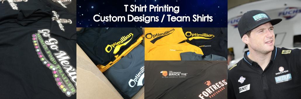 T shirt Printing slider