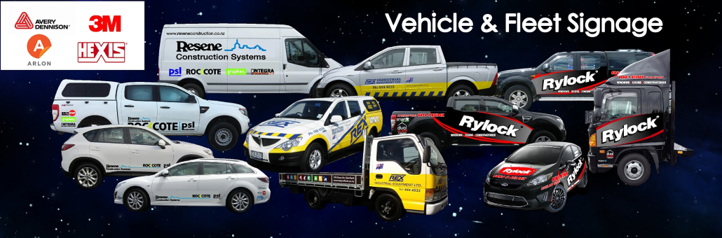 Vehicle and Fleet Signage Slider