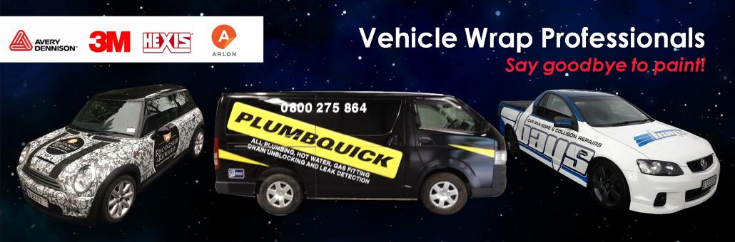 Vehicle Wrap Professionals Slider